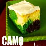 Camo Birthday Cake Camouflage Camo Cake