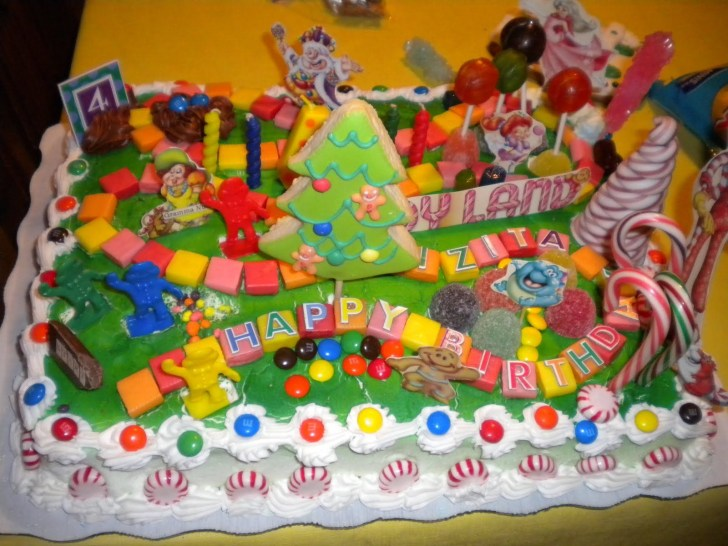 35+ Elegant Picture of Candyland Birthday Cake
