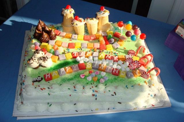 Candyland Birthday Cake Candyland Cakes Decoration Ideas Little Birthday Cakes