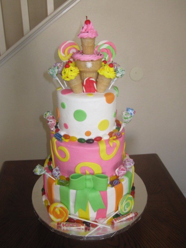 Candyland Birthday Cake Candyland Cakes Designs Ms Cakes Candyland Cake Projects To