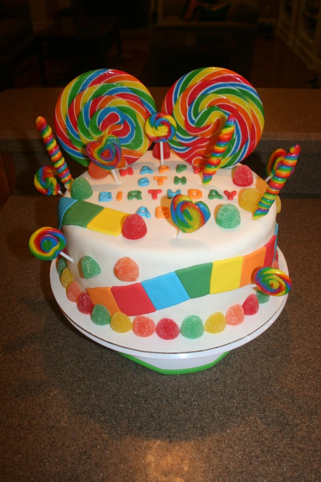 Candyland Birthday Cake Candyland Candy Birthday Cake Candi Arthur What Do You Think For