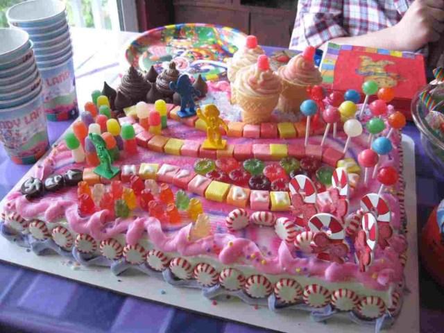 Candyland Birthday Cake Candyland Castle Birthday Cake Personcentredplanning