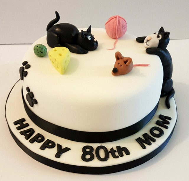 Cat Cakes For Birthdays Animal Cakes Quality Cake Company Tamworth