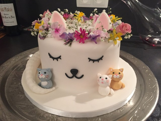 Cat Cakes For Birthdays Cat Cake Birthday For Lex In 2018 Pinterest Cake Cat Party