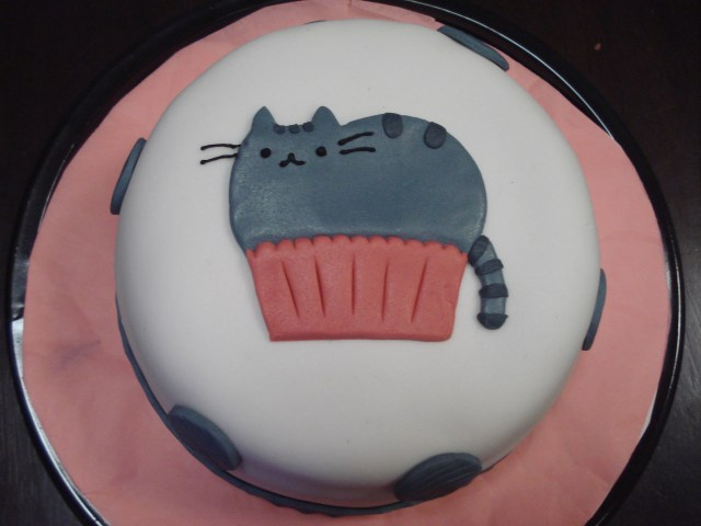 Cat Cakes For Birthdays Pusheen Birthday Cakes
