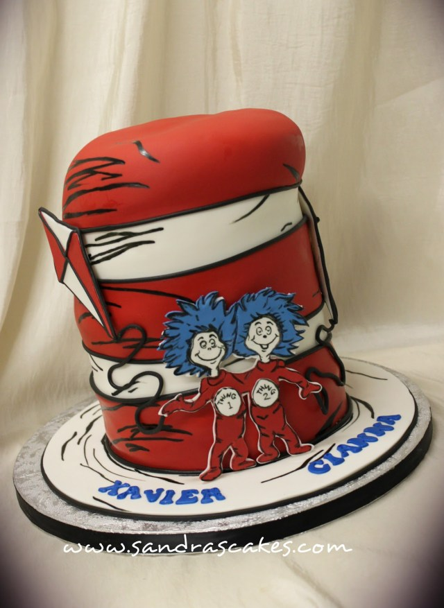 Cat In The Hat Birthday Cake Cat In The Hat Birthday Cake