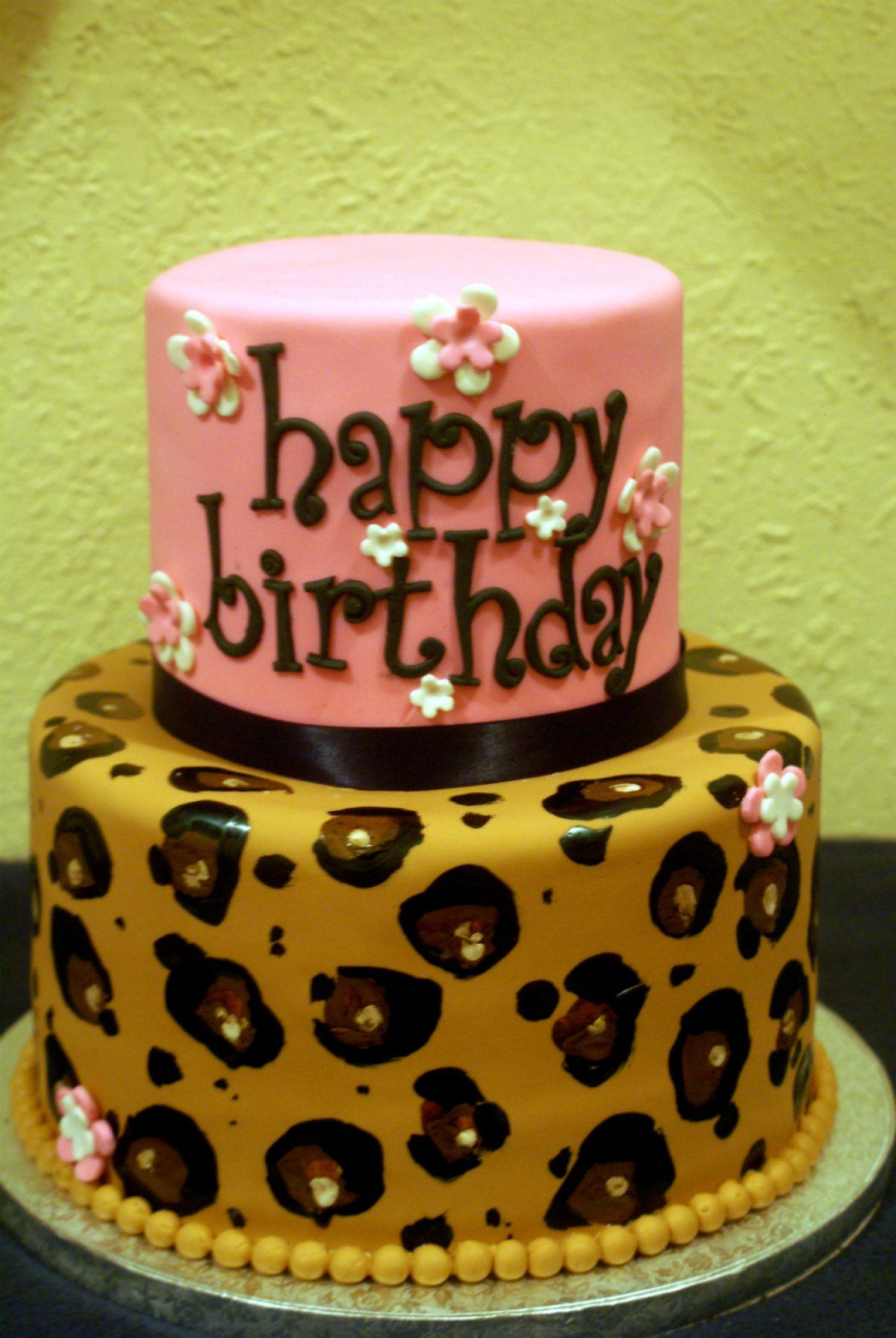 Cheetah Print Birthday Cakes Leopard Google Search Decorating
