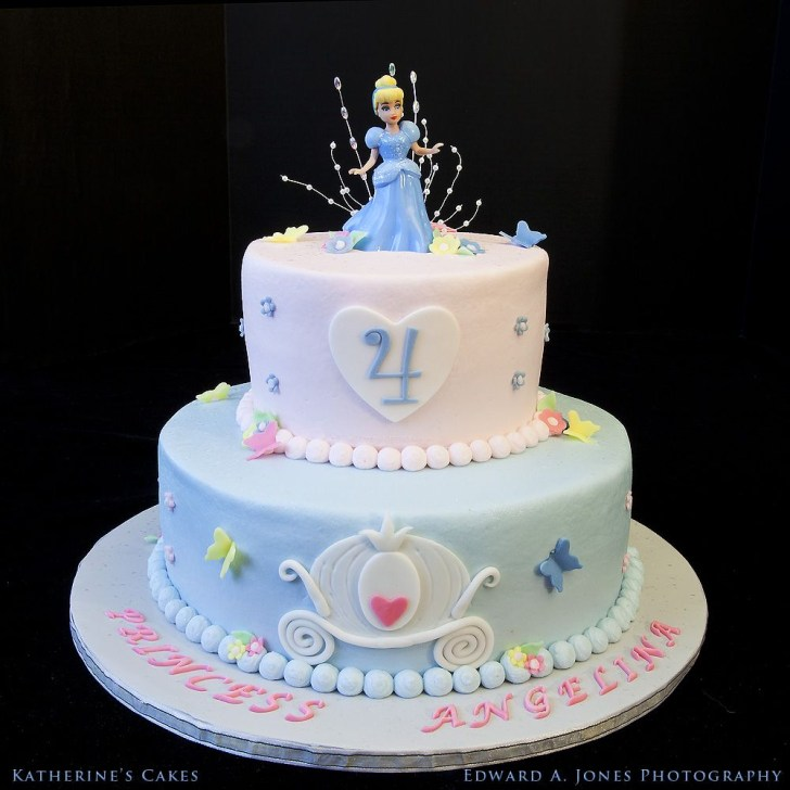 35+ Inspiration Image of Cinderella Birthday Cakes