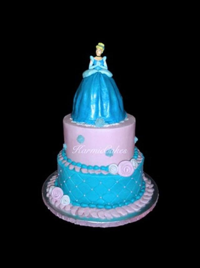 Cinderella Birthday Cakes Princess Cinderella Birthday Cake Cakecentral