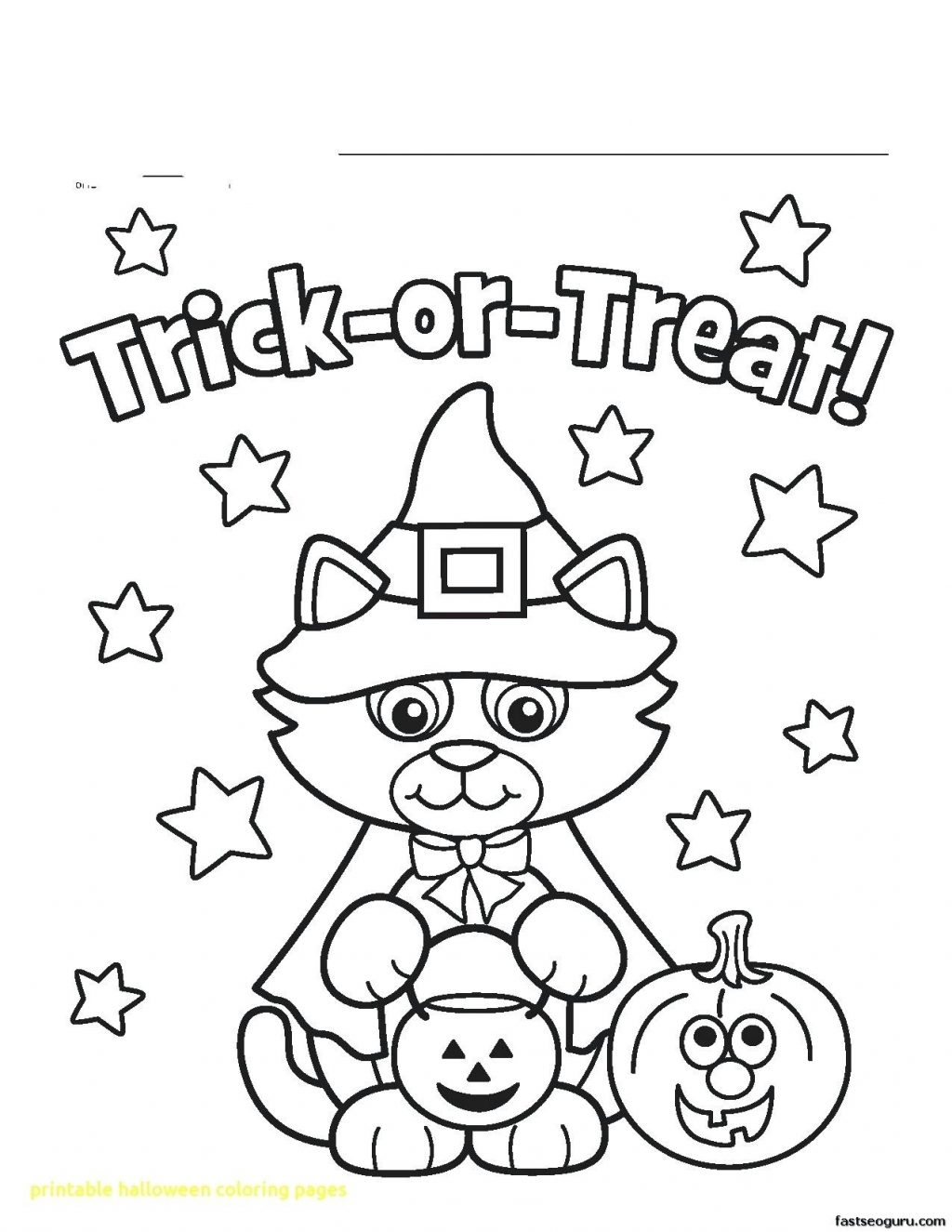 Coloring Pages Halloween Coloring Pages Free Printable Halloween