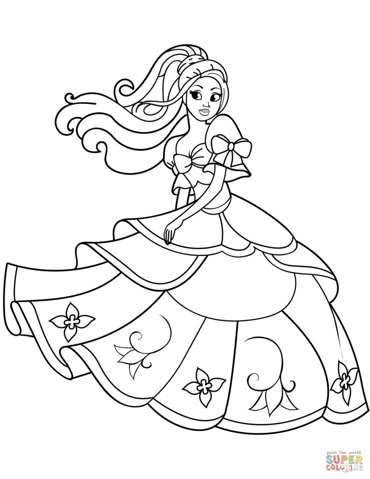 25+ Awesome Photo of Coloring Pages Princess