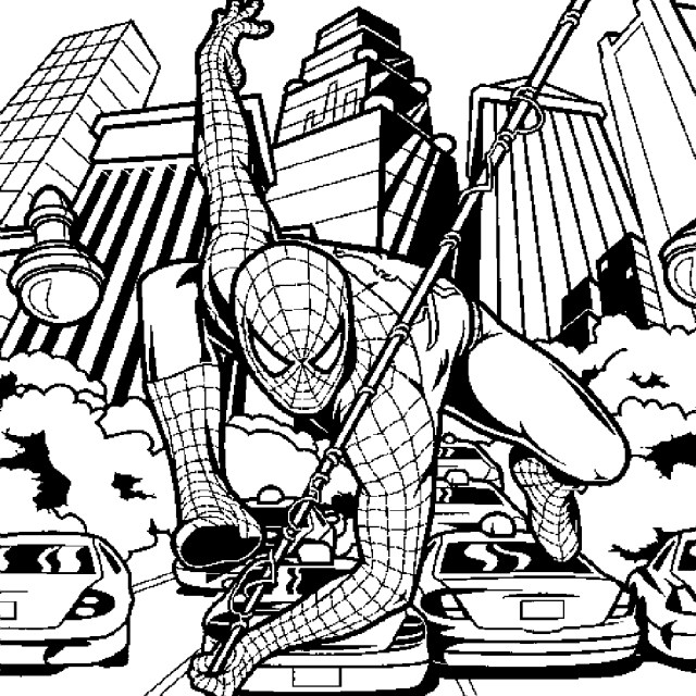 Coloring Pages Spiderman Print Download Spiderman Coloring Pages An Enjoyable Way To