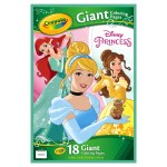 Crayola Giant Coloring Pages Crayola 18 Giant Coloring Pages Disney Princess Drawing Coloring