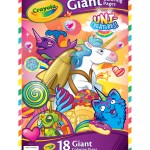 Crayola Giant Coloring Pages Crayola Uni Creatures 18 Pk 1275x195 Giant Coloring Pages Joann