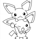 Cute Coloring Pages Ba Pikachu Drawing Cute Coloring Pages Soidergi