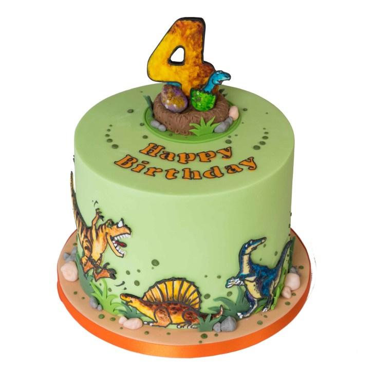 35+ Exclusive Photo of Dinosaur Birthday Cakes
