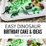 Dinosaur Birthday Cakes Dinosaur Birthday Cake And Amazingly Easy Party Ideas