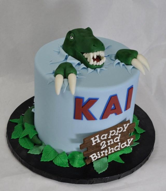 Dinosaur Birthday Cakes Dinosaur Birthday Cake Jenny Wenny Flickr