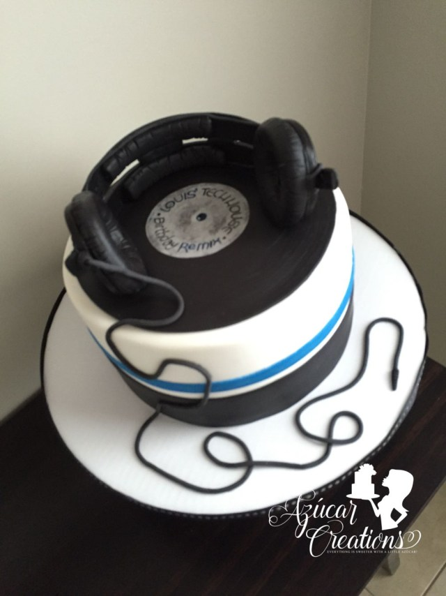 Dj Birthday Cake Dj Birthday Cake Dorty Hudebn Pinte