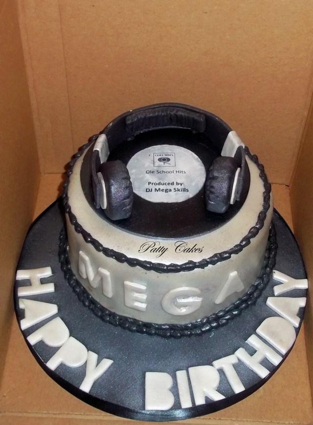 Dj Birthday Cake Dj Cake Cakes Category Pinterest Cake Dj Cake And Birthday