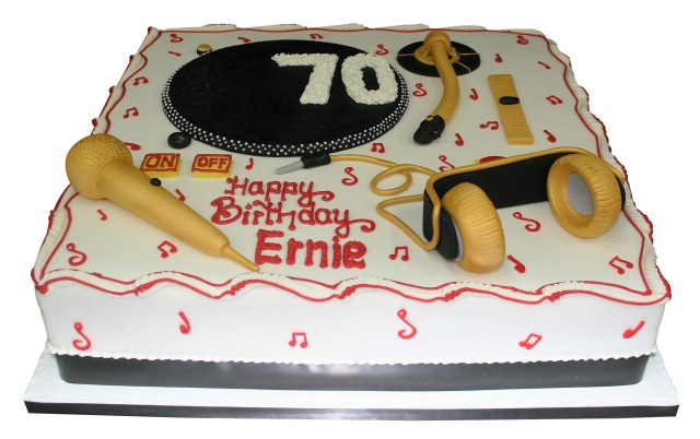 Dj Birthday Cake Dj Themed Cake