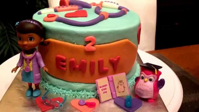 Doc Mcstuffin Birthday Cake Doc Mcstuffins Birthday Cake Eye Doctor Hootsburgh Youtube
