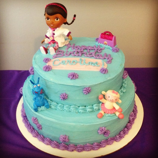 Doc Mcstuffin Birthday Cake Doc Mcstuffins Birthday Cake Krista Becker Flickr