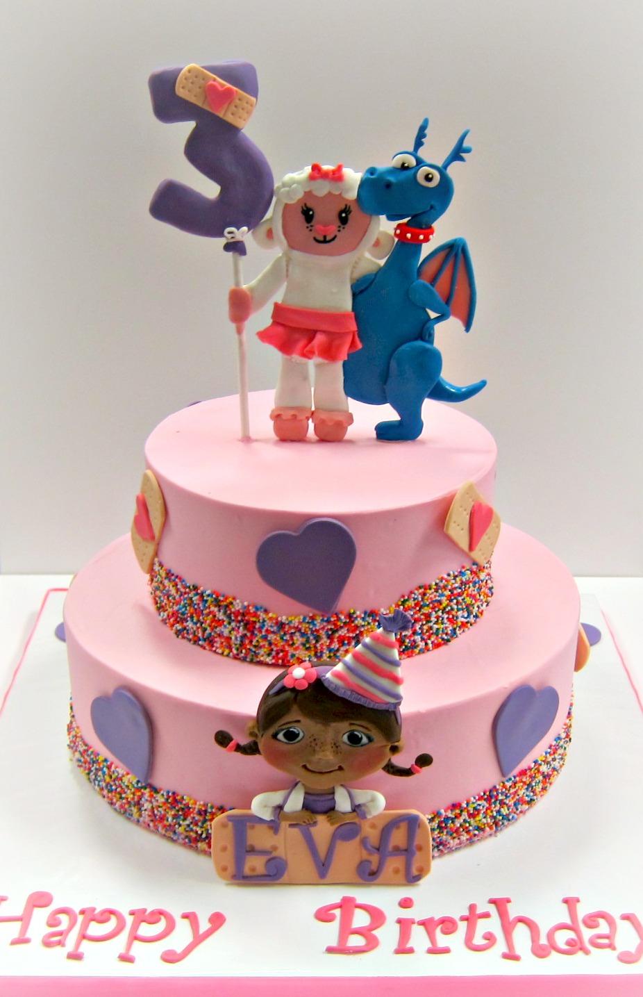 Doc Mcstuffin Birthday Cake Doc Mcstuffins Birthday Cake Scrumptions