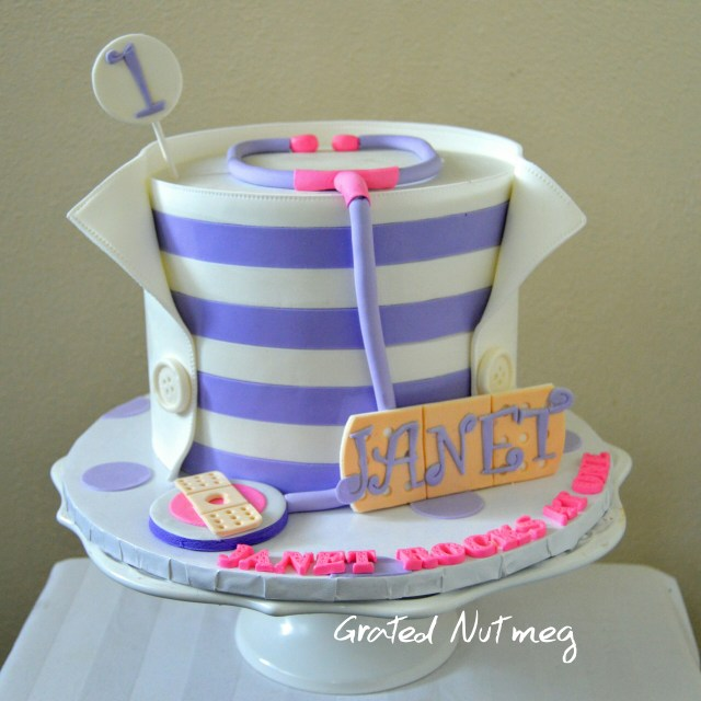 Doc Mcstuffin Birthday Cake Doc Mcstuffins Cake Grated Nutmeg