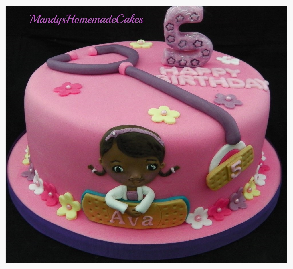 Doc Mcstuffins Birthday Cake Doc Mcstuffins Birthday Celebration Cake Mandys Homemade Cakes