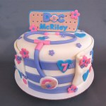 Doc Mcstuffins Birthday Cake Doc Mcstuffins Inspired Birthday Cake Decorated Cakes Me