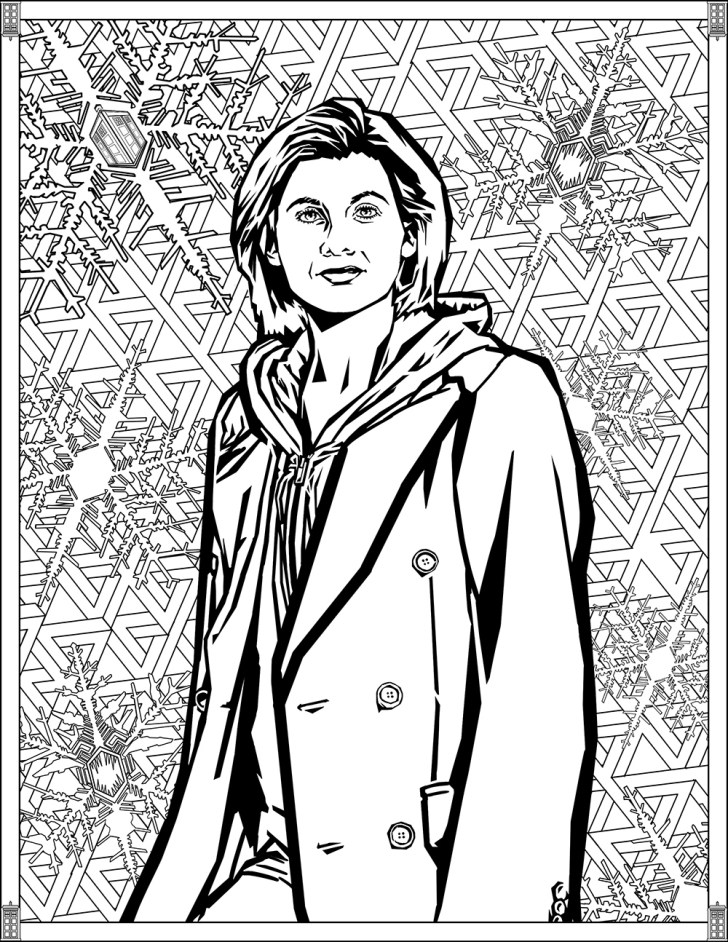 27+ Wonderful Picture of Doctor Who Coloring Pages