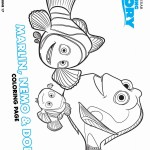 Dory Coloring Pages Finding Dory Coloring Pages