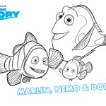 Dory Coloring Pages Finding Dory To Color For Children Finding Dory Kids Coloring Pages
