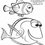 Dory Coloring Pages Luxury Dory And Marlin Coloring Pages Teachinrochester