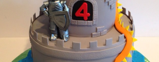 Dragon Birthday Cake Knight And Dragon Birthday Cake Skyrim Party Pinterest Castle