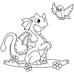 Dragon Coloring Pages Dragon Coloring Pages Free Coloring Pages