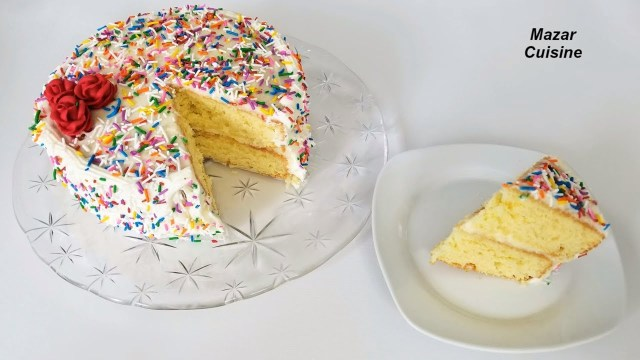 Easy Birthday Cake Recipe Birthday Cake Recipe Easy Simple Sponge Cake Recipe Birthday