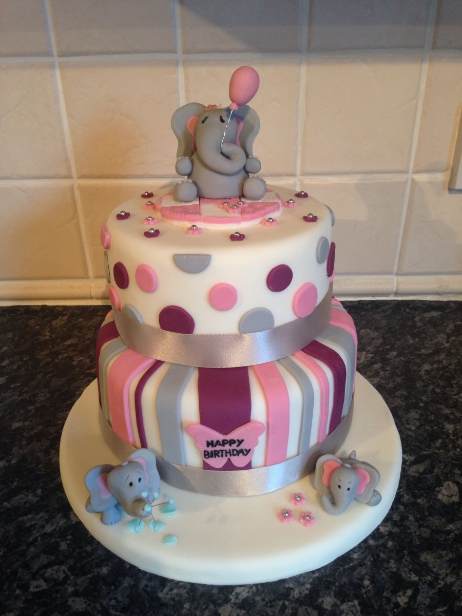 34+ Beautiful Picture of Elephant Birthday Cakes