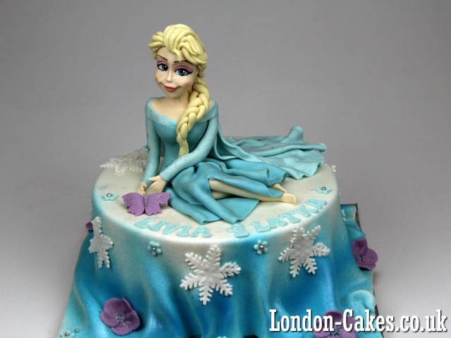Elsa Birthday Cake Frozen Cakes In London