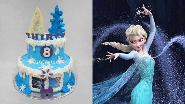 Elsa Birthday Cake Frozen Elsa Birthday Cake Youtube