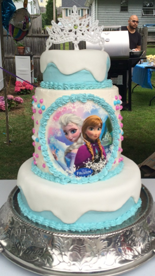 Elsa Birthday Cake Frozen Theme Birthday Cake Cakecentral