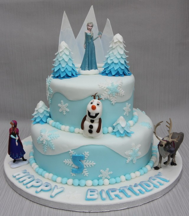 Elsa Birthday Cakes 11 Round Birthday Cakes Disney Elsa Photo Frozen Birthday Cake