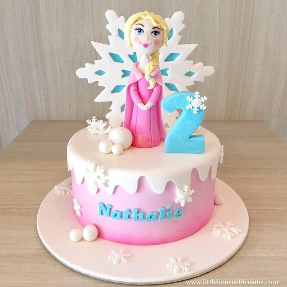 Elsa Birthday Cakes 18 Frozen Themed Birthday Cakes Which Can Be Customized Recommend