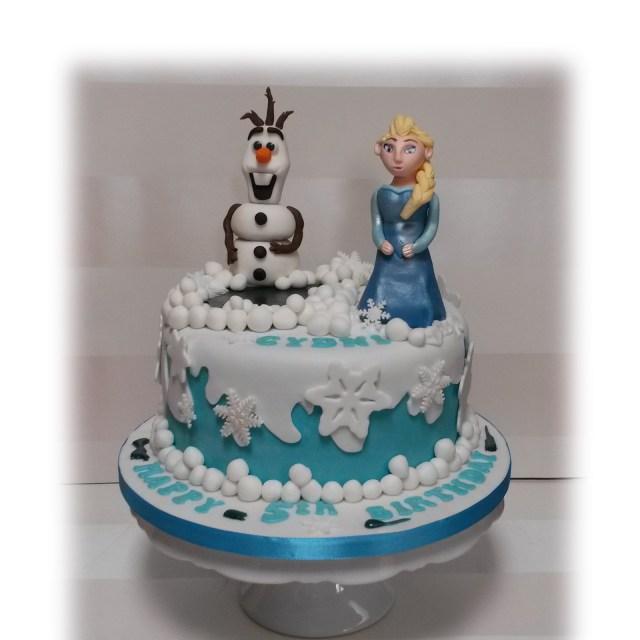 Elsa Birthday Cakes Disney Frozen Elsa Birthday Cake Bakealous