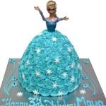 Elsa Birthday Cakes Elsa Shaped Cake