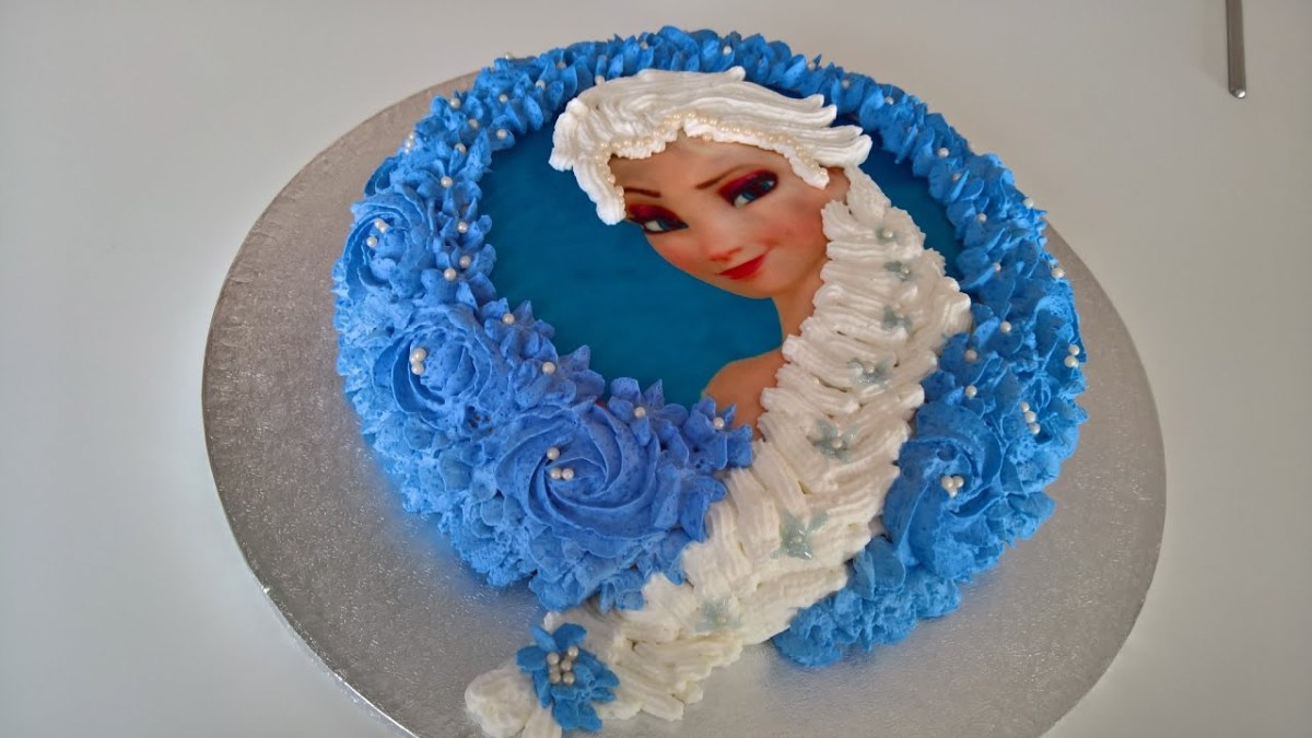 Elsa Birthday Cakes Frozen Birthday Cake Tutorial From Basic Ingredients Youtube