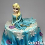 Elsa Birthday Cakes Frozen Cakes In London