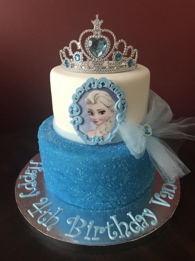 Elsa Birthday Cakes Frozen Elsa Birthday Cake Birthday Cakes In 2018 Pinterest