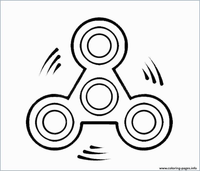 Fidget Spinner Coloring Page Fidget Spinner Coloring Games Lovely A Fid Spinner Coloring Page
